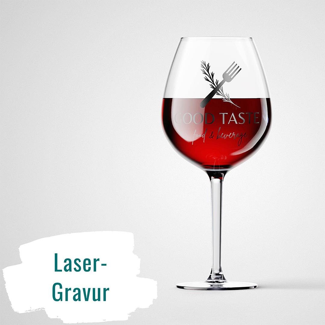 Lasergravur. Weyhe Werbung